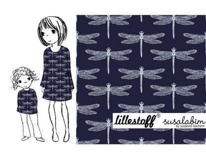 Libelle Lillestoff