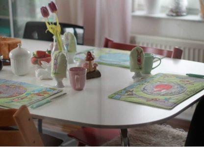 Ostertisch Tischsets